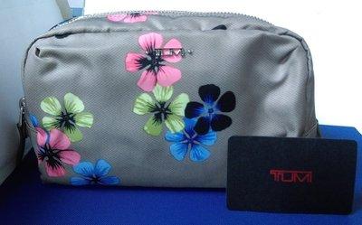 知名美國旅行包TUMI 花漾化妝包