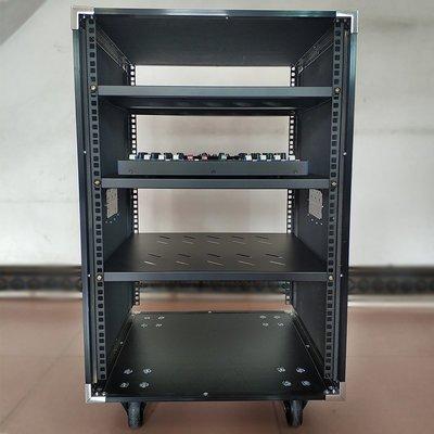 蘿莉正品音箱櫃16U加厚航空箱業音響機柜功放機箱10u調音臺機柜12u移動20u舞臺箱