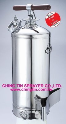 【金田噴霧器】KHC-12A 背負式-不鏽鋼噴霧器/消毒噴霧器/12公升/消毒,園藝用/農藥桶/噴霧桶