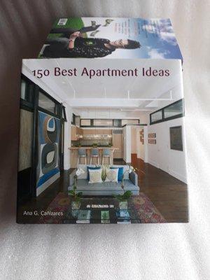 原文英文書室內設計裝潢(150 best apartment ideas》Canizares, Ana (EDT)│蠻新