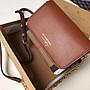 Alina精品代購 Burberry 巴寶莉 英倫都會時尚 經典HOUSE格紋棕色鍊條包 美國outlet代購