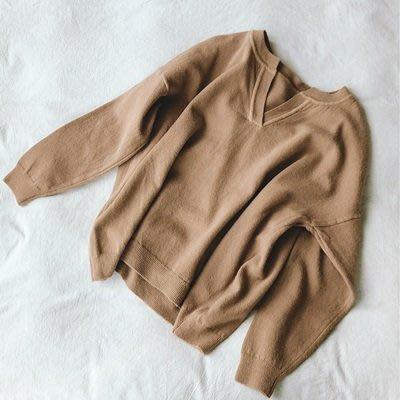 毛 衣 兔毛針織衫-V領純色舒適經典女上衣4色73uc27[獨家進口][米蘭精品]