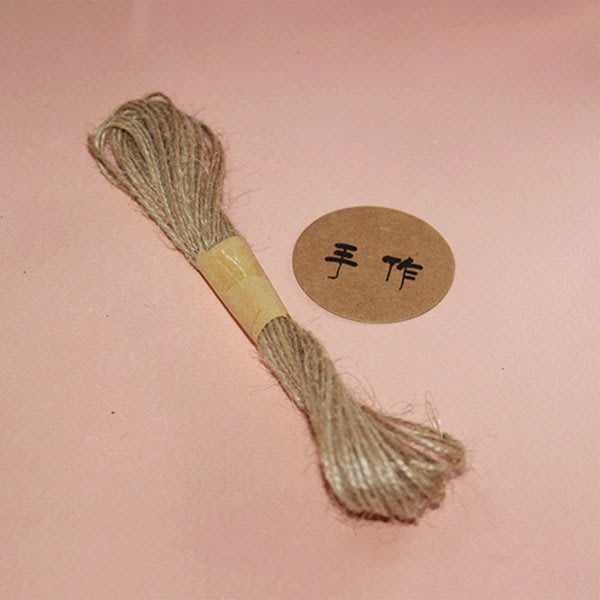手工DIY天然麻繩 包裝繩 (10米)【JI2290】《Jami Honey》