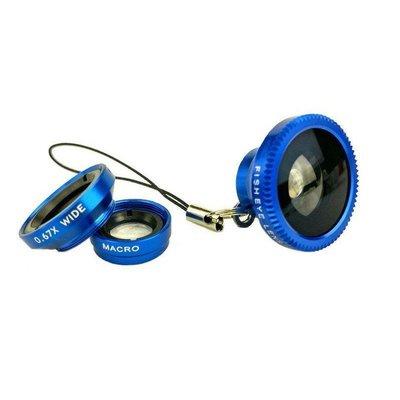 磁吸式三合一手機鏡頭 帶包裝通用型廣角微距180°魚眼鏡頭 3合1DIGITAL INTERNATIONAL ELECT