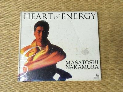 [免費FREE] 中村雅俊(Masatoshi Nakamura) - HEART of ENERGY CD 日版 (1996年)