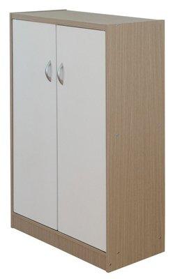 塑合空心板-雙門六層鞋櫃.鞋架.置物櫃.玄關櫃.書櫃DL-3960
