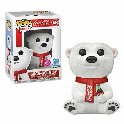 BEETLE FUNKO POP COCACOLA 可口可樂 北極熊 POLAR BEAR 植絨 FLOCKED 限定