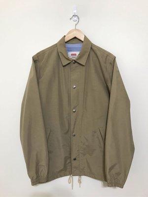 已出售 Supreme 2012 SS taped seam coach jacket M