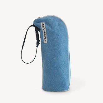 日本星巴克starbucks六月新品藍色保溫/保冷袋
