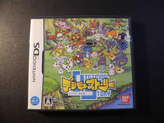 Digimon Story 數碼寶貝物語│Nintendo DS│編號:G3