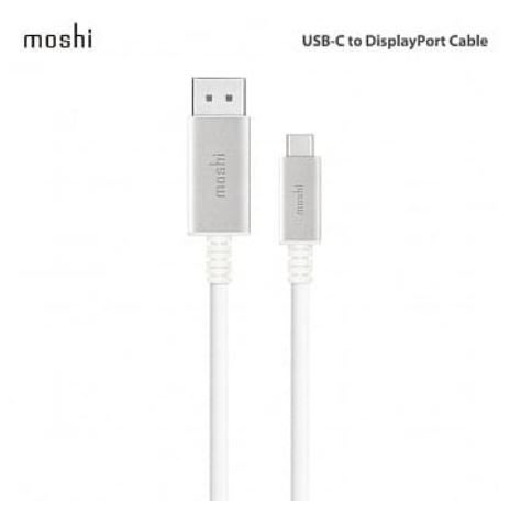 【貝殼】Moshi 5K USB-C to DisplayPort 傳輸線