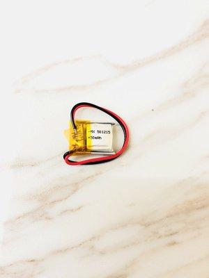 [501215] 3.7V 鋰聚合物電池