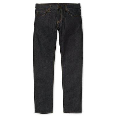 【紐約范特西】現貨 Carhartt WIP 工裝潮牌男式修身直筒中腰原色牛仔長褲 I019858