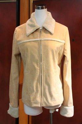 【性感貝貝2館】Non-Stop 專櫃~ 米駝色內刷毛領保暖外套, French Collection Gap H&M出