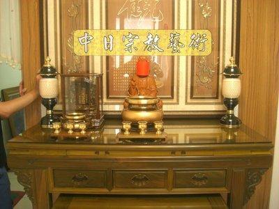 【現代佛堂設計鑒賞82】神明廳佛俱精品神桌佛桌神櫥公媽桌神像佛像祖先龕神聯佛聯製作