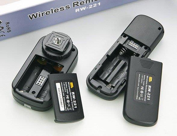 呈現攝影-PIXEL品色 RW-221 S2 無線快門線 遙控器 可換線 SONY  Multi 接頭 SONY索尼、A7/A7r 似RM-VPR1