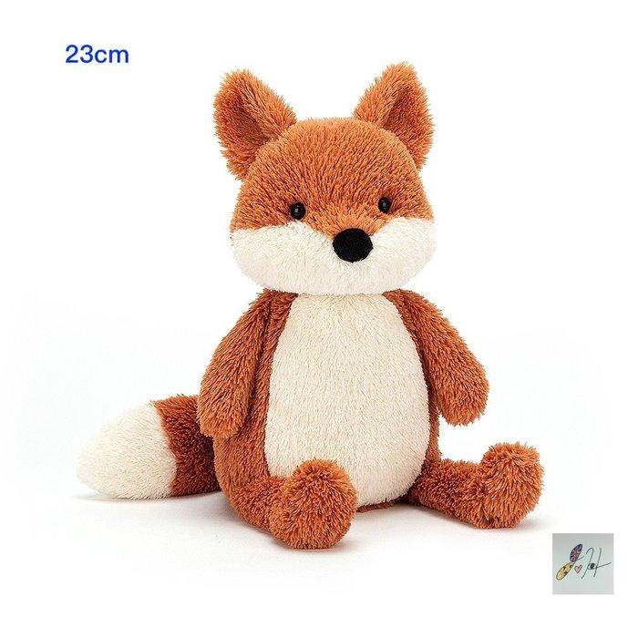 當日寄出[現貨] 英國代購 英國JELLYCAT 短腿花生狐狸玩偶 23cm