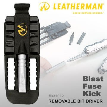 【angel 精品館 】Leatherman REMOVABLE BIT DRIVER可拆式工具組931012