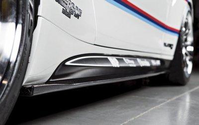 ✽顯閣商行✽日本 3D design BMW F87 M2 Competition 碳纖維側裙定風翼組 側定翼
