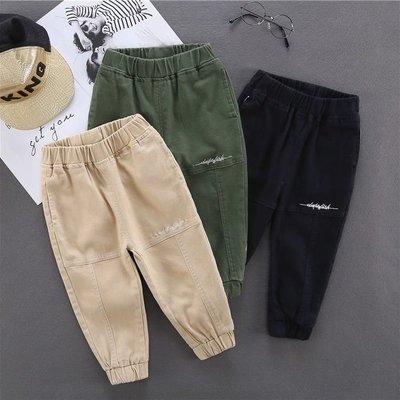 ��飛魚鳥�� 童裝男童秋裝3休閒褲子2020新款春秋款5歲兒童工裝褲7小男孩長褲