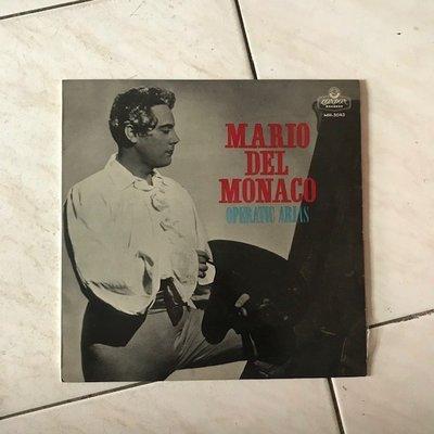 ~春庄生活美學小舖~2手黑膠LP    MARIO DEL MONACO/OPERATIC ARIAS 日版