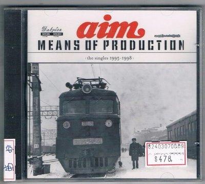 [鑫隆音樂]西洋CD-安姆AIM:MEANS OF PRODUCTION(the singles 1995-1998 (全新)