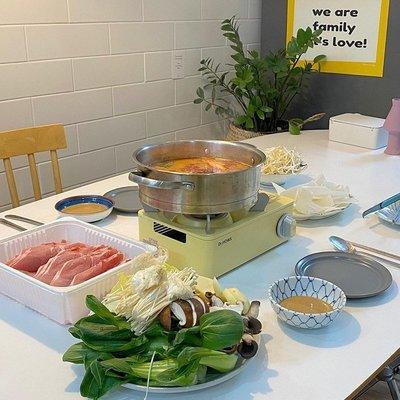 燒烤爐韓國戶外迷你爐家用烤肉便攜燒烤爐具野營燃氣爐灶防風Dr.HOWS