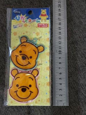 Winnie the pooh 小熊維尼 頭造型 名牌 吊牌 匙扣吊飾