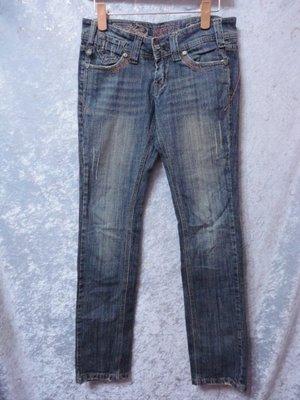 99元起標~CUTTLE~簡約風設計牛仔褲~SIZE:S