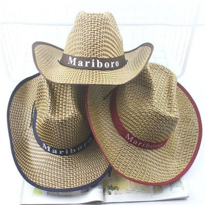 常安正品草帽草帽男式中老年人爸爸大檐沿戶外曬遮陽夏涼休閑禮帽牛仔太陽帽