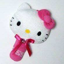*凱西小舖*日本進口三麗歐正版KITTY凱蒂貓可愛造型手拿鏡M