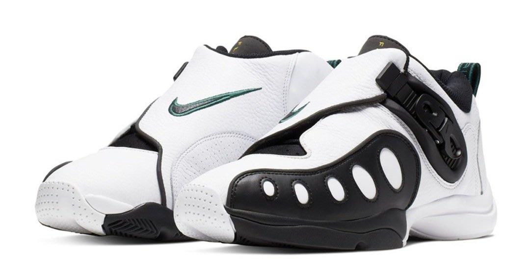 全新正品 Nike Zoom GP 白黑 Gary Payton US 8 手套 AR4342-100