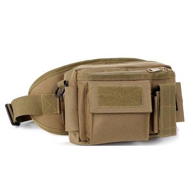 好物多商城 戶外軍迷裝備多用途配包腰包時尚運動包相機包 多色可選