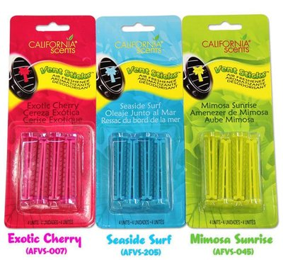 (I LOVE樂多)加州通風口夾式香芬棒Vent Sticks Air Fresheners
