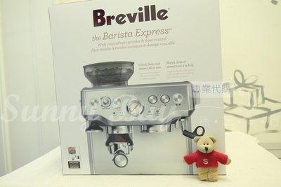 【Sunny Buy】◎預購◎ Breville BES870XL 義式 半自動 咖啡機 銀色