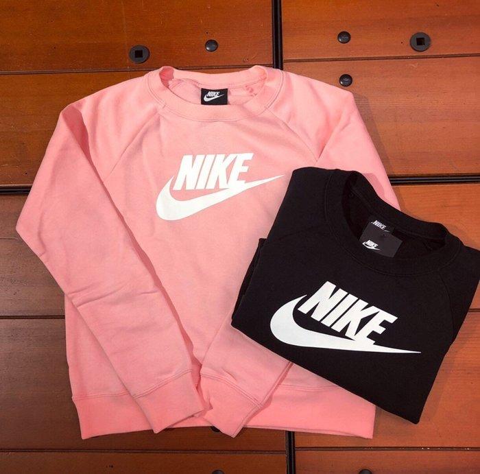 現貨 iShoes正品 Nike NSW 女款 大學T 內刷毛 衛衣 BV4113-697 粉 BV4113-010 黑