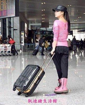 【凱迪豬生活館】WEEKENDER正品 黑色金框萬向輪拉桿箱旅行箱 行李箱 奢華黑金款KTZ-200929