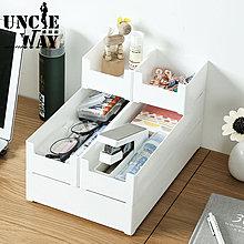 小正方形|日式無印 收納盒 置物盒 桌上收納 方形收納盒 文具用品 化妝品收納 桌面整理【H0412】