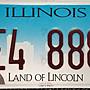 利害吧!拍賣2019年美國林肯總統壹組2張美國伊利诺伊州8888!!!