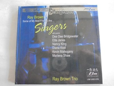 Ray Brown - Some of My Best Friends Are… Singers  **全新**Ultr