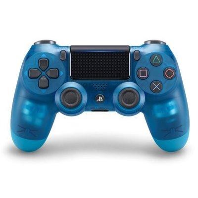 SONY PS4 原廠 無線控制器 新版 震動手把 D4 台灣原廠公司 水晶藍 CUH-ZCT2G19【台中恐龍電玩】