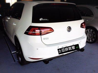 新竹專業排氣管 VW福斯 Golf GTI R32 Tiguan Scirocco Touareg POLO PASSAT 單派 金屬觸媒 閥門 全段訂製!
