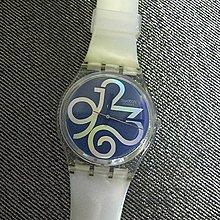 """on sale SWATCH年度搶購錶款""""時間的流逝""""手錶  錶面會隨光影移動而產生變化  全新"""