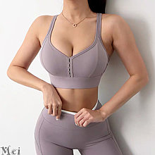 運動文胸 性感美背後搭扣防震聚攏運動內衣 瑜珈內衣 運動背心 胸衣 健身背心 瑜伽背心 運動胸罩 瑜伽內衣 健身文胸