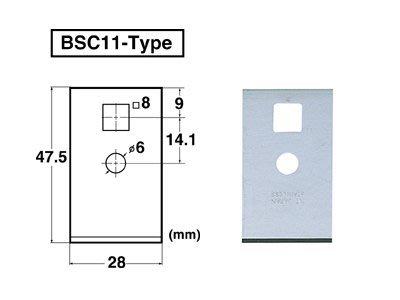 {阿治嬤} 日本 NT BSC-11P 刮刀用替換刀片 BSC11P