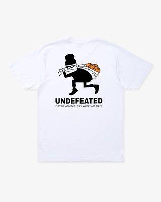 UNDEFEATED THIEF S/S TEE 小偷 短T 黑白 男女