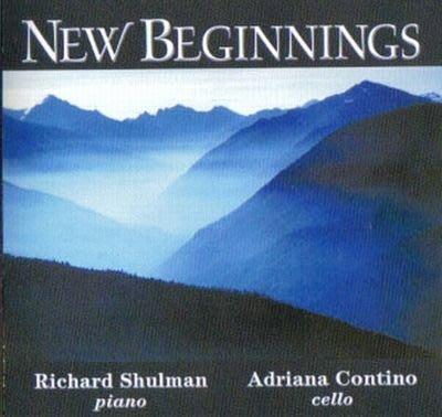 [心靈之音]-嶄新的開始 New Beginnings -理查舒曼能量靜心音樂-合法授權進口新品