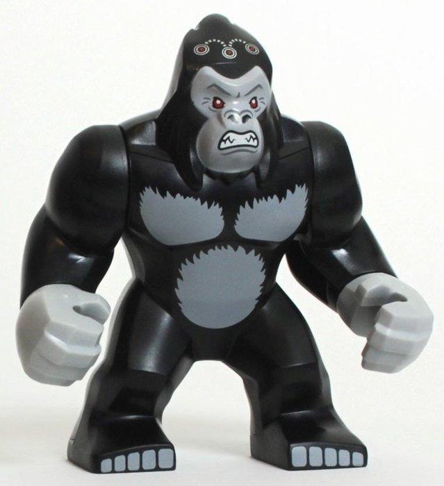 現貨【LEGO 樂高】全新正品 積木 / 超級英雄系列 76026 | 單一人偶: 大猩猩 古魯德 Gorilla