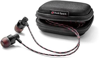 純正德國原廠 Audi Sport 耳塞式耳機 Audi A1 A3 A4 A5 A6 A7 Q3 Q5 s-line