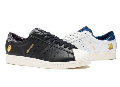 【日貨代購CITY】Bape x Adidas x UNDFTD Superstar 80S APE 猿人迷彩燙金 現貨